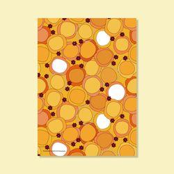 포스터 MANDARIN FLOWER 50x70