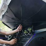 자동차 햇빛가림막 앞좌석 차량용 우산 햇빛가리개