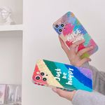 아이폰12 11 pro max xs 8 컬러 유화 페인팅 폰케이스