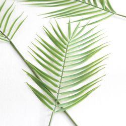 아레카야자 나뭇잎 조화 1P