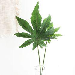 파키라 나뭇잎 조화 1P (대)