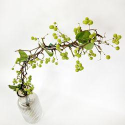 싱그러운 열매가 주렁주렁 청미래(망개열매) 절지 1단