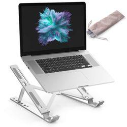 휴대용 1단 접이식 노트북거치대 휴대용 알루미늄