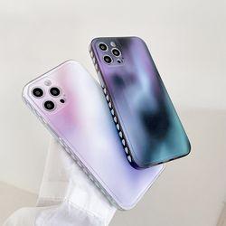 아이폰 12 11 pro max xs 8 오로라 그라데이션 케이스
