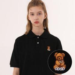 유니온 베어 PK 티셔츠 - BLACK