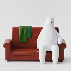 Mr.donothing Figure - Couch potato