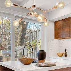 미라클 6등 가지형 식탁 LED 포인트조명