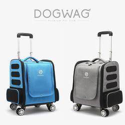 도그웨그 사륜 캐리어 강아지 산책 이동 가방 캐리어 고양이