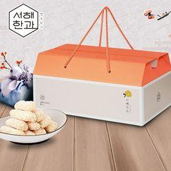 군산 서해한과 찹쌀유과 500g (4팩) 선물세트