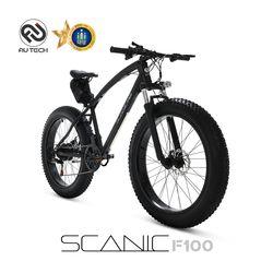 AU테크 스카닉 F100 36V 7.5Ah 전기 팻바이크 자전거