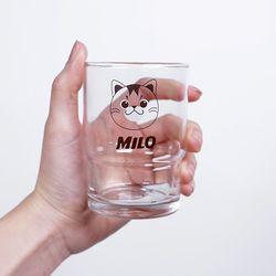 베베집사 유리컵
