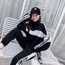 여성 트레이닝복 세트 봄 가을 운동복 츄리닝 WFLT002
