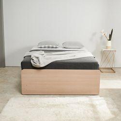 노뎀 높은 서랍중앙형 침대 퀸+7존독립 매트리스