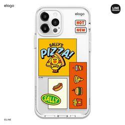 라인프렌즈 버거타임 아이폰12 아이폰11 케이스-샐리