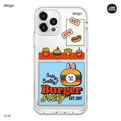 라인프렌즈 버거타임 아이폰12 아이폰11 케이스-코니