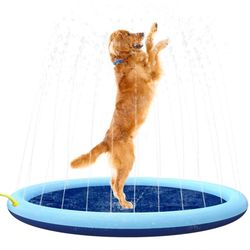 멍냥이랑 강아지 물놀이매트 수영장 풀장