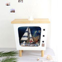 여름 풍경 TV (대-65cm)