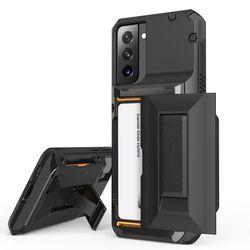 갤럭시 S21 케이스 거치대 반자동 카드수납 하이브리드