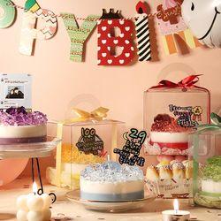 탄생석 케이크 맞춤 캔들 인테리어소품 답례품