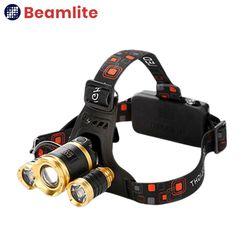 HB-Z03 해루질 헤드랜턴 3구 줌라이트 CREE L2 U3 LED (B세트)