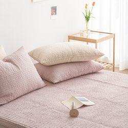 미니멀피그먼트 밴딩 침대패드 K 4colors