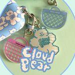 cloud bear key ring (키링)