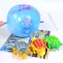 공룡 캐릭터 벌룬 공 풍선 변신 볼 틱톡말랑이 장난감
