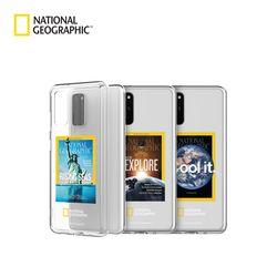 내셔널지오그래픽 갤럭시노트10+ 매거진 투명 케이스