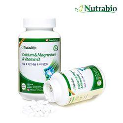 뉴트라바이오 칼슘 마그네슘 비타민D 180정