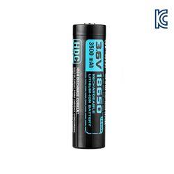 [오라이트] HDC 18650 충전용 배터리 (KC인증 3.6V  3500mAh)