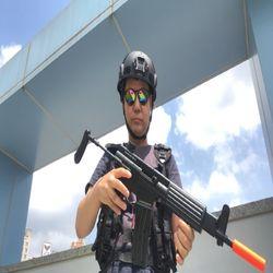 실제 크기 한국군 제식 소총 K1 라이플 에어소프트건