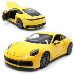 1:24 웰리 포르쉐 911 카레라 4S 다이캐스트 미니카