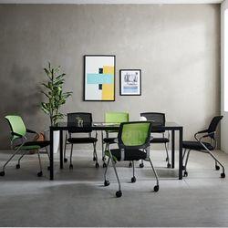 T4 미팅테이블 세트 1800 포그니 6인용 회의탁자 사무실