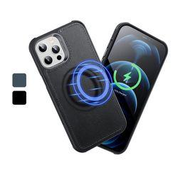 ESR 아이폰12 Pro MFM 메트로 레더 케이스 맥세이프