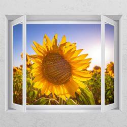 tj159-풍수에좋은꽃풍경창문그림액자