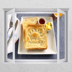 td452-모닝빵창문그림액자