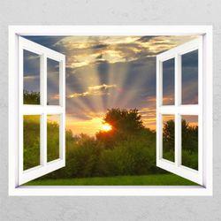 ac902-태양은뜬다창문그림액자