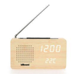 빌보드 LED 시계와 FM라디오 WC-02