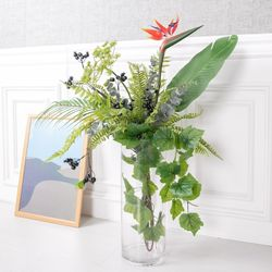 트로피컬리프화병set 80cmR 조화 꽃 인테리어 FMFUFT