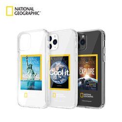 내셔널지오그래픽 아이폰12 Pro Max 매거진 투명 케이스