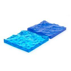 바다를 닮은 물결 코스터트레이 레진코스터