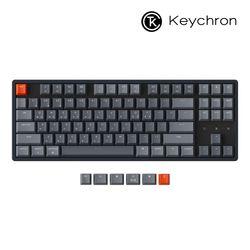 키크론 K8 RGB 알루미늄 블루투스 기계식키보드 핫스왑 옵티컬