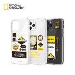 내셔널지오그래픽 아이폰12 Mini 와펜 투명 케이스