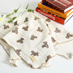 오로라펫 강아지 3중거즈 포그니 블랭킷 4종