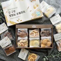 에이쿠키 6종 쿠키 선물 세트 (쇼핑백포함)