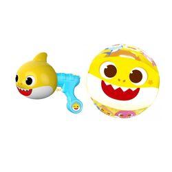 핑크퐁 아기상어 여름 물놀이세트 비치볼+미니물총