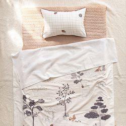자장자장 낮잠이불 여름용 블랭킷 단품 숲속의 다람쥐