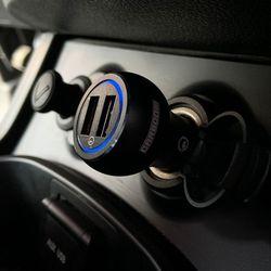 카붐 듀얼포트 차량용 고속 충전기