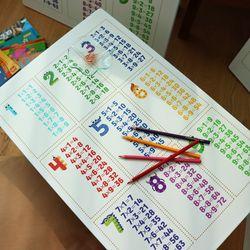 아이들 공부상 구구단 접이식테이블 대 800x600