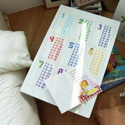아이들 공부상 구구단 접이식테이블 중 720x480